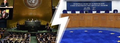 Interdiction de la burqa : bras de fer entre l'ONU et la CEDH
