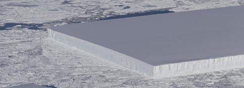 Un étrange iceberg «rectangulaire» pris en photo par la Nasa en Antarctique