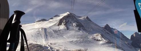 Ski : premières glisses à Tignes