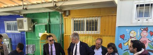 En Grèce, Laurent Wauquiez dénonce la faillite européenne face à la crise migratoire