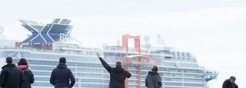Le géant des mers Celebrity Edge quitte Saint-Nazaire pour les États-Unis