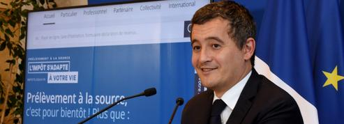 Prélèvement à la source: Darmanin espère un gain de 700 millions d'euros pour l'État