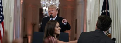 «Personne horrible», «raciste»: Donald Trump s'en prend violemment à des journalistes