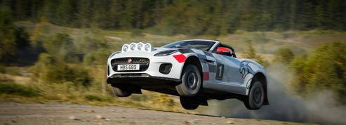 Jaguar F-Type, du rallye dans l'air!