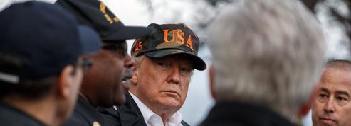 À Paradise, ville dévastée par le feu, Donald Trump exprime sa «tristesse»