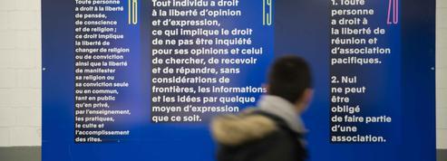 Les gares célèbrent la Déclaration universelle des droits de l'homme