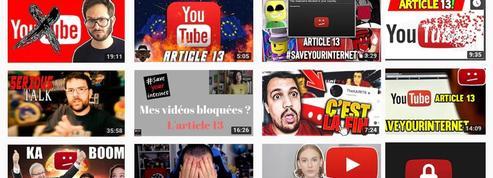 «Ils m'ont dit qu'Internet était en danger»: Comment Google mobilise les Youtubeurs contre l'article 13