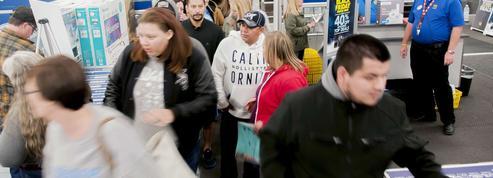 L'euphorie du Black Friday dissimule un début d'inquiétude aux États-Unis