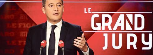 «Gilets jaunes» à Paris : pour Gérald Darmanin, «c'est la peste brune qui a manifesté»
