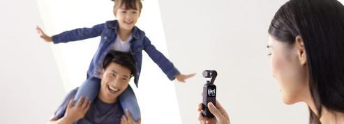 DJI Osmo Pocket, une caméra de poche pour les accros aux «stories» sur les réseaux sociaux
