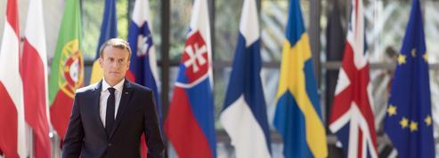 La diplomatie d'Emmanuel Macron peine à s'imposer en Europe