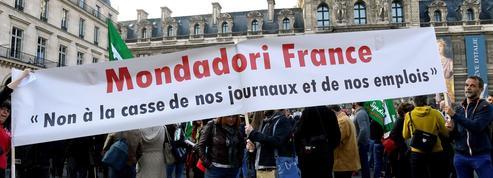 «Reworld, on n'en veut pas» : les salariés de Mondadori à nouveau dans la rue