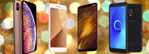 Noël 2018: notre sélection des meilleurs smartphones à offrir pour tous les budgets