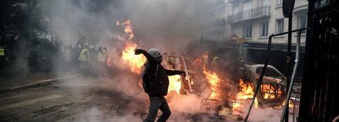 «Gilets jaunes» : la carte des zones les plus sensibles des manifestations de samedi à Paris