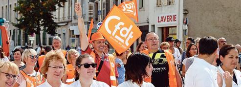 La CFDT devient le premier syndicat français, devant la CGT