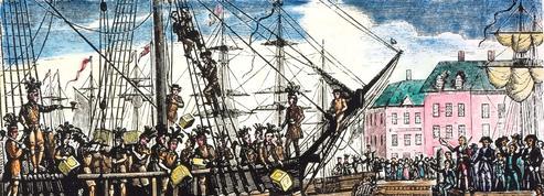 Tea Party à Boston le 17 décembre 1773