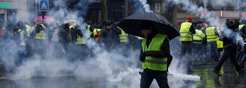 «Gilets jaunes» : plus de manifestants à Bordeaux ou Toulouse qu'à Paris