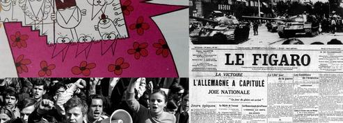 11 novembre, Mai 68, Ve République... l'année 2018 dans les archives du Figaro