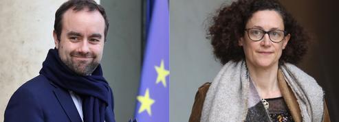 Sébastien Lecornu et Emmanuelle Wargon, le duo de ministres qui va animer le débat