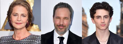 Charlotte Rampling et Timothée Chalamet au casting du Dune de Denis Villeneuve