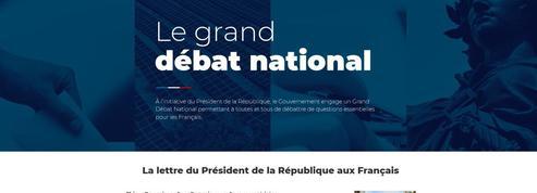 Grand débat national: le laborieux lancement de la plateforme de vœux