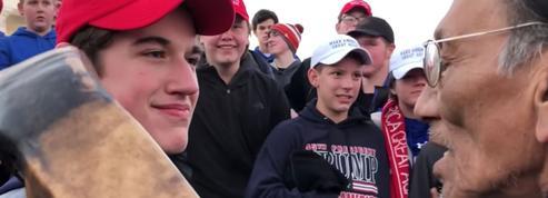 Donald Trump apporte son soutien aux lycéens accusés de racisme