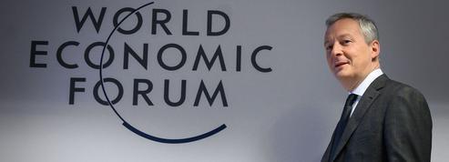 À Davos, Bruno Le Maire défend un impôt mondial sur les sociétés