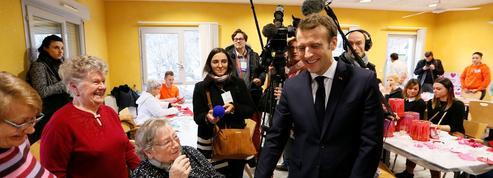Emmanuel Macron a repris ses réflexes de campagne