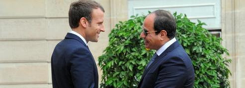 Visite de Macron à l'allié stratégique égyptien
