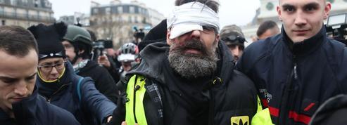 Après la blessure de Jérôme Rodrigues, des «gilets jaunes» appellent au soulèvement