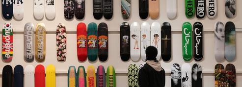 Une collection de skateboards Supreme vendue aux enchères
