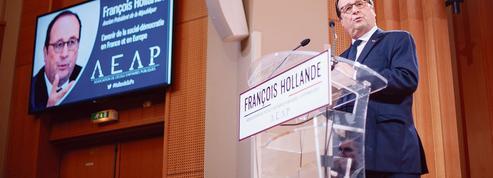 François Hollande à Sciences Po: «Il ne faut pas s'autoflageller»