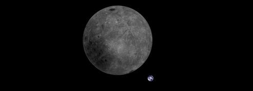 La face cachée de la Lune et la Terre sur un même cliché étonnant