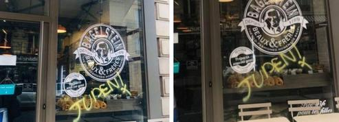 Indignation après une inscription antisémite sur une boutique en plein Paris