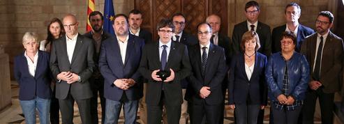 Douze ténors de l'indépendantisme catalan devant la justice espagnole