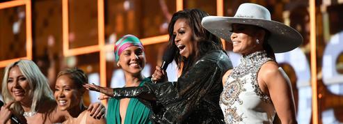 La surprise de Michelle Obama, Drake coupé, le boycott de Childish Gambino, les moments forts des Grammy Awards