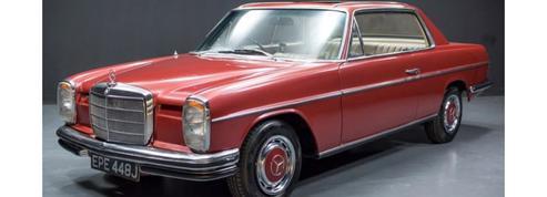 La Mercedes de Georges Harrison aux enchères