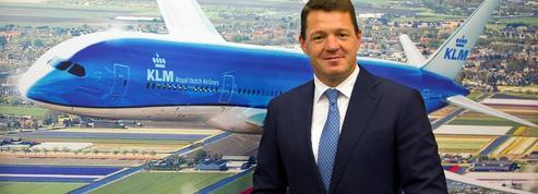 Ben Smith met le patron de KLM au pied du mur