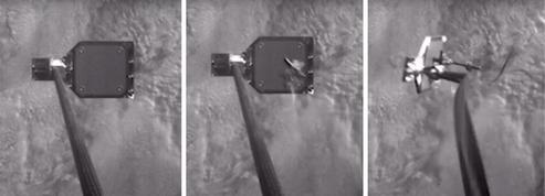 Un harpon à débris spatiaux testé avec succès en orbite