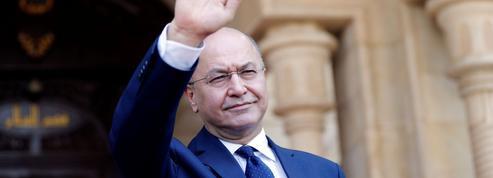 Le président irakien effectue sa première visite en France