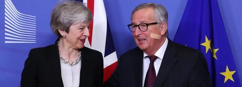Brexit: les discussions patinent, le scénario du report évoqué