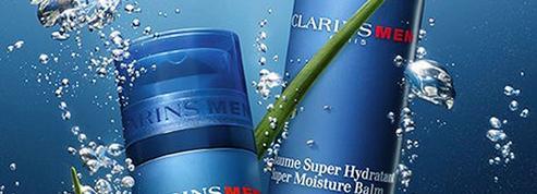 Clarins mise sur les plantes pour gorger d'eau la peau masculine