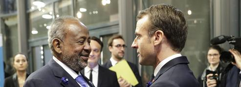 Macron à Djibouti pour contrer l'influence croissante de la Chine