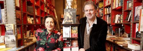 Yannick Haenel et Marie-Rose Guarniéri àlaLibrairie des Abbesses