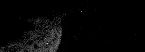 Suprise sur l'astéroïde Bennu: il éjecte de la matière comme une comète