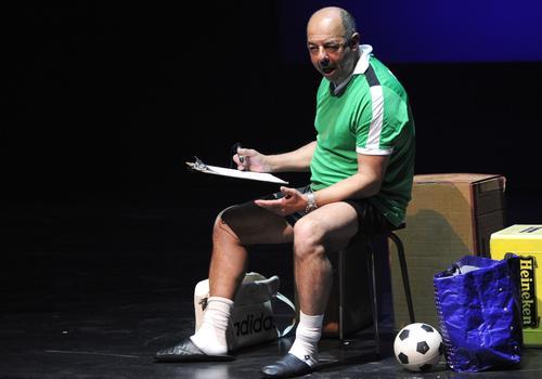 Mohamed Rouabhi, auteur et comédien dans «Jamais seul».