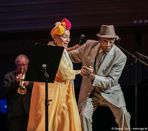 Omara Portuondo, doyenne de l'orchestre cubain. Crédits photo: Dragan Tasic