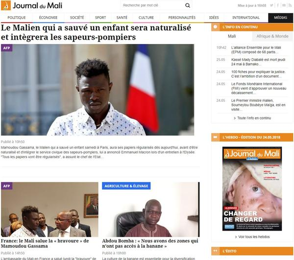 Naturalisation de Mamoudou Gassama : Rihanna se réjouit de la décision de Macron