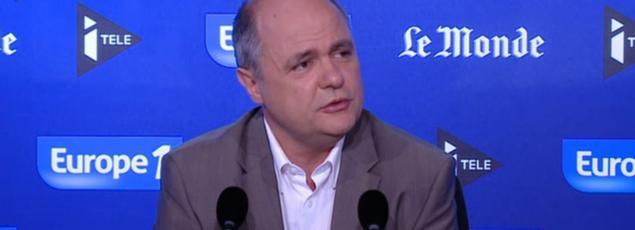 Le président du groupe socialiste à l'Assemblée nationale, Bruno Le Roux