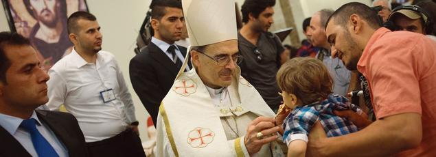 Le cardinal Philippe Barbarin était au Kurdistan irakien le 28 juin dernier pour l'inauguration de Saint-Irénée, une école financée par des bailleurs de fonds français et destinée aux enfants déplacés.